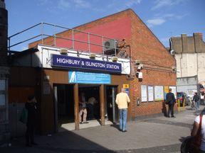 Police were called to Highbury and Islington station. Pic: Sunil Prasannan