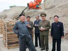 Mr Kim is often pictured with a cigarette in hand