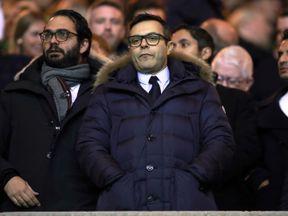 Leeds United's owner Andrea Radrizzani