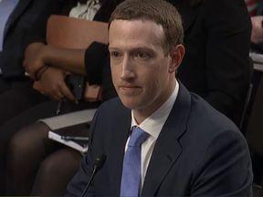 Mark Zuckerberg testifies before Congress