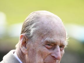 Prince Philip photographed in February