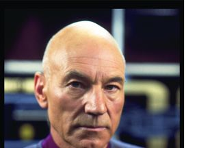 Sir Patrick Stewart as Jean-Luc Picard in Star Trek