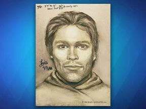 """The sketch of the suspect appeared on """"The View"""" on the US channel ABC"""