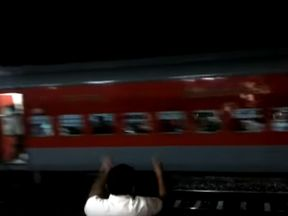The train rolled back at speed for seven miles. Pic: YouTube