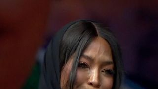 Naomi Campbell said she was lucky to have known Winnie Mandela