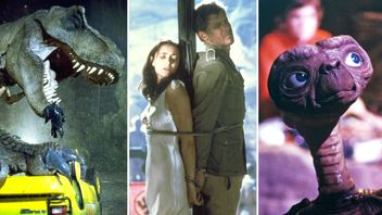 Jurassic Park, Raiders Of The Lost Ark, and E.T