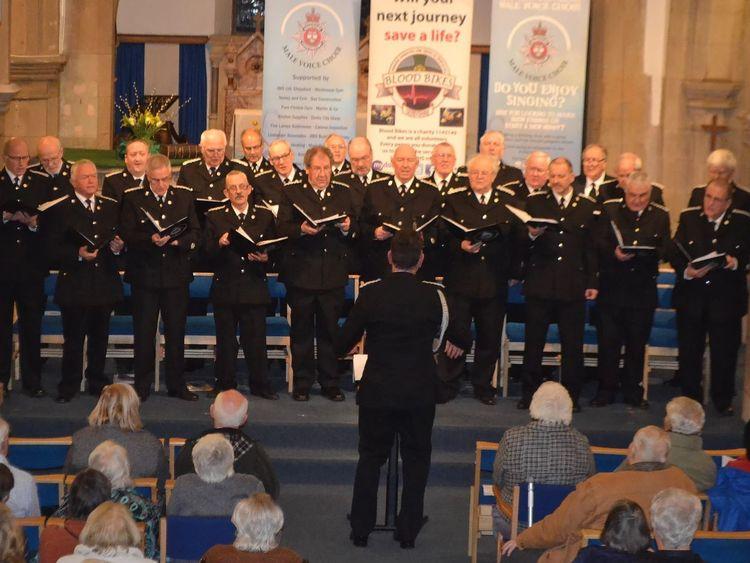 The Derbyshire Constabulary Male Voice Choir
