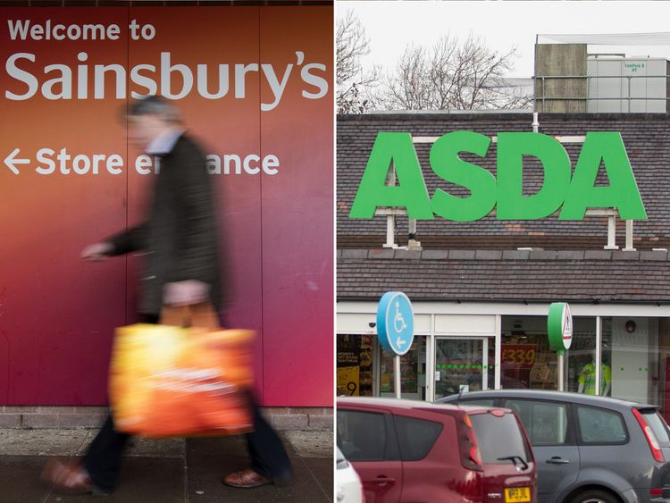 Sainsbury's and Asda