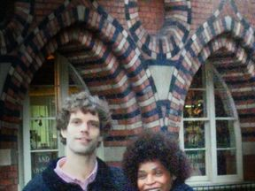 Berlinah Wallace and Mark Van Dongen