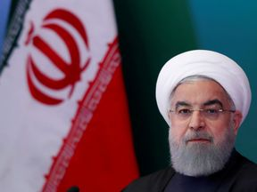Mr Rouhani says the Us is making a mistake if it abandons the deal
