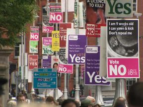 The country is set to vote on the abortion issue on Friday