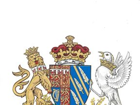 The Duchess of Sussex worked with the College of Arms on her design