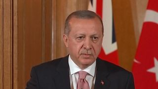 President Erdogan's question to the world - 'Side with the strong or side with the right?'