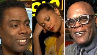 Chris Rock, Thandie Newton and Samuel L Jackson