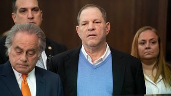 Harvey Weinstein, 66, at New York County Criminal Court, charged with rape in the first and third degrees