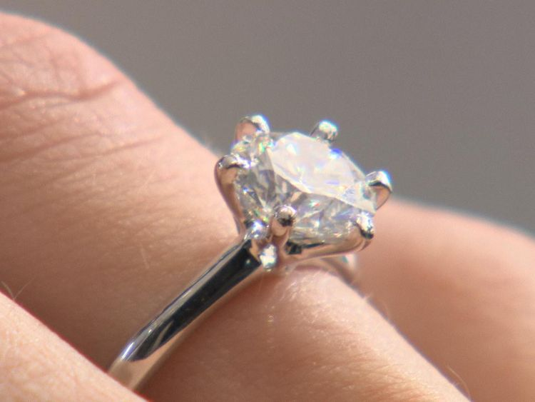 The lab diamonds may be more pure but most people still opt for natural stones