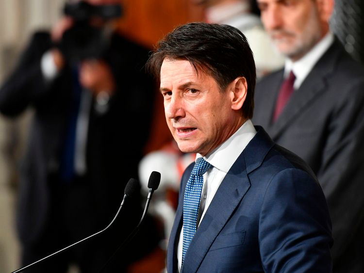 Giuseppe Conte is a lawyer by trade