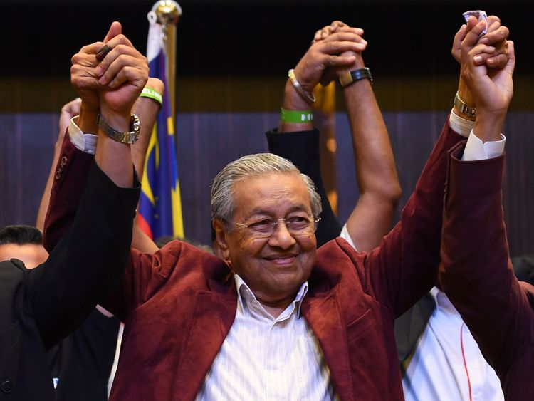 Mahathir Mohamad led Malaysia for 22 years before resigning in 2003