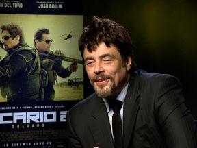 Sicario 2's Del Toro on US border crisis