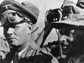 Erwin Rommel was commander of the Africa Corps in World War Two