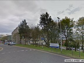 Ninewells Hospital in Dundee