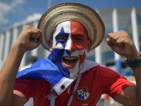 Panama fans are still delighted with their performance in Sunday's match