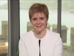 Nicola Sturgeon won't be cheering for England this summer