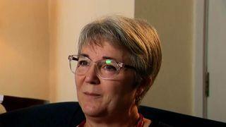 Emanuela Disaro, the mother of Grenfell victim Gloria Trevisan
