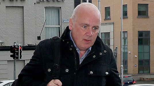 Former CEO of Anglo Irish Bank, David Drumm, arrives at Dublin Circuit Criminal Court in Dublin, Ireland on June 20, 2018.