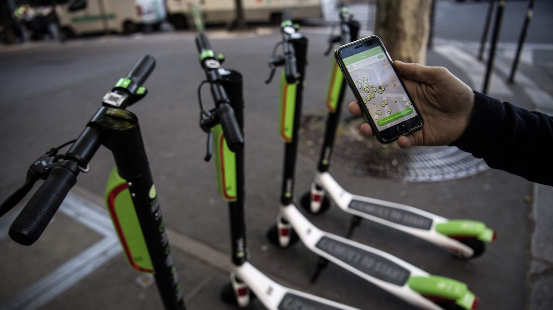 Lime's service is available in 70 cities around the world