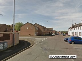 Petrol bombs were thrown at houses along Lecky Road, Belfast