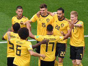 Belgium take lead