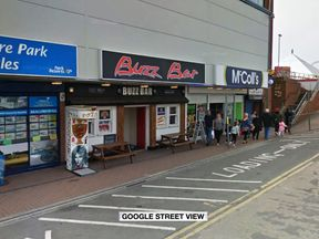 The woman was injured in a fight outside the Buzz Bar in Ingoldmells