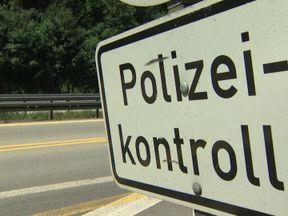 The German border in Bavaria
