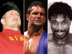 L/R: Nikolai Volkoff, Brian Lawler and Brickhouse Brown. Pics: WWE