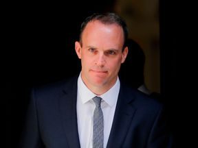 Dominic Raab campaigned for Vote Leave
