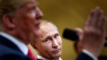 Trump denies Russia colluded in election