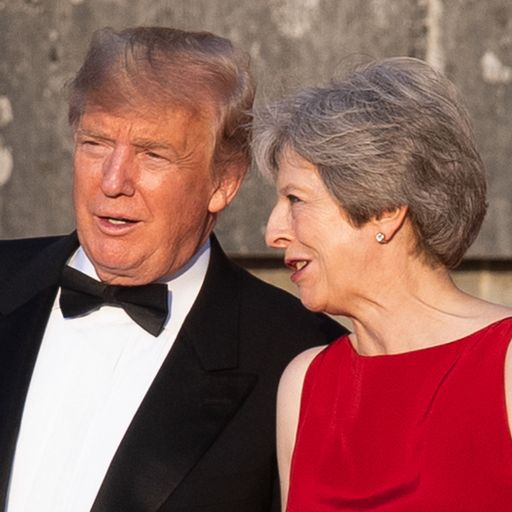 What Trump really thinks about May... and the Queen