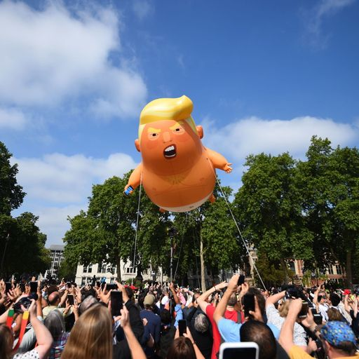 Why I started blimp campaign against 'tyrant' Trump