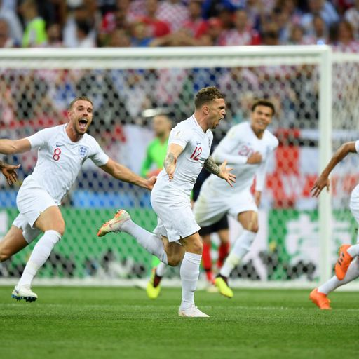 'Heads high': Stars praise England heroes after World Cup run