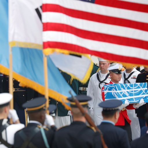 North Korea returns the remains of US war dead
