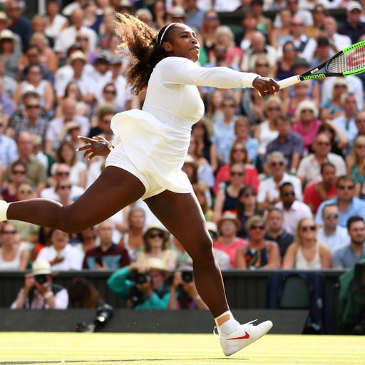Serena Williams' stunning comeback to Wimbledon final