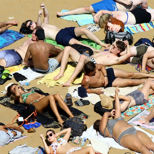 It's Sun-day! Record set for England's hottest day of the year so far as heatwave continues