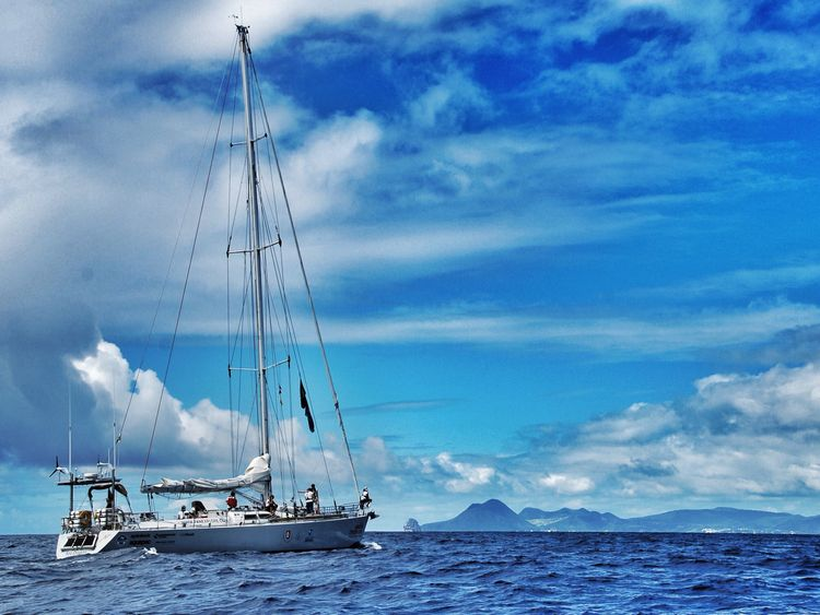 The crew travelled 3,000 nautical miles and journeyed through the densest ocean plastic accumulation zone on the planet
