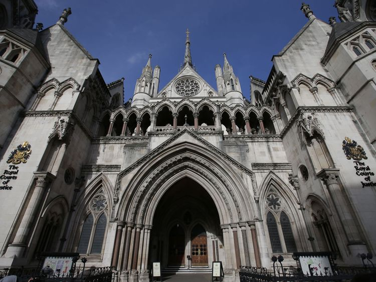 The Royal Courts of Justice, where JT's appeal was heard