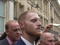 Ben Stokes after he was cleared of affray