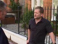 Robert Nicholson witnesses the Westminster incident