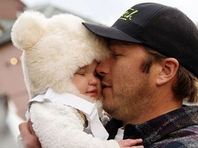 The couple want to raise awareness of accidental drowning. Pic: Bode Miller/Instagram