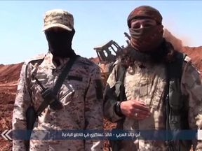 'We'll hit him in a way he's never experienced before,' say jihadists in a HTS film