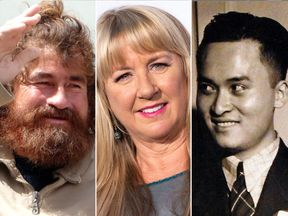 L/R: Jose Salvador Alvarenga, Tami Oldham Ashcraft and Poon Lim have all survived being stranded at sea